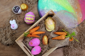 LUSH Cosmetics Photography Easter