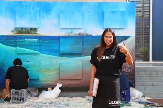 LUSH Cosmetics Photography campaign
