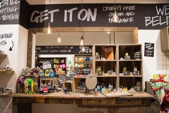 LUSH Parramatta store