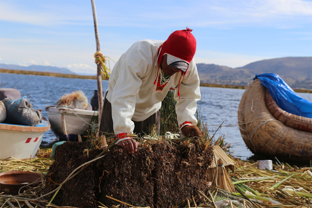 Photography Peru Lake Titicaca Floating Island